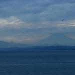 新江ノ島水族館からの富士山|Nikon D600+Ai Nikkor 105mm F/2.5