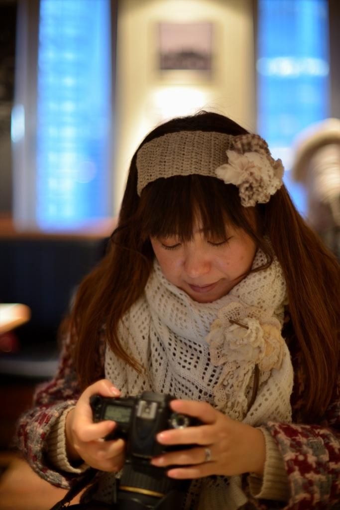 新米カメラ女子Nikon D600+Ai-S 50mm f/1.250mm F/1.2