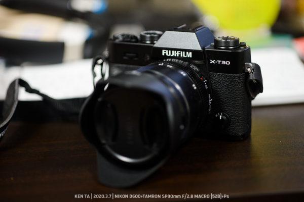 |_・) 買ったった…X-T30+XF18-55mm F2.8-4 R LM OIS!(うちに来たヨ編)