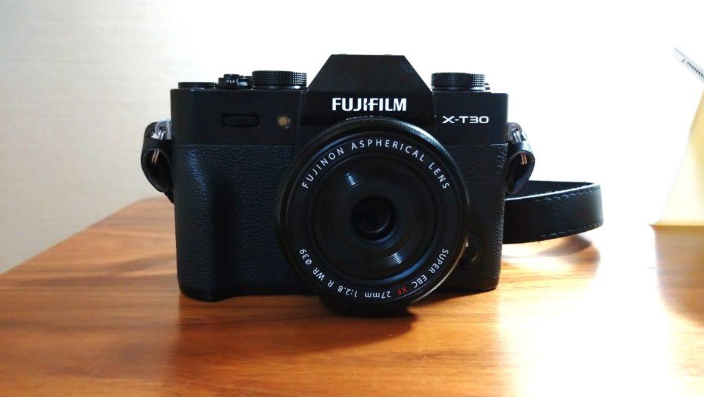 Fujifilm X-T30 + XF27mm F2.8 R WR